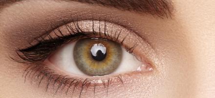 Dioptrijske leće u boji