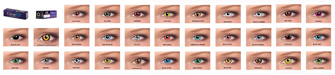 Kontaktne leće za Noć vještica