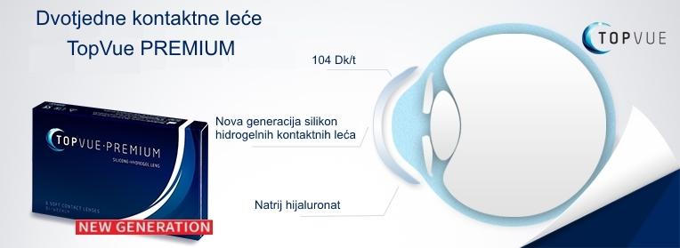 silikon hidrogel dvotjedne kontaktne leće