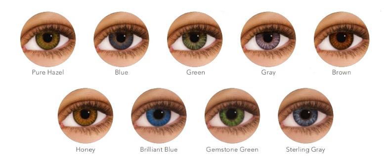 O lećama u boji