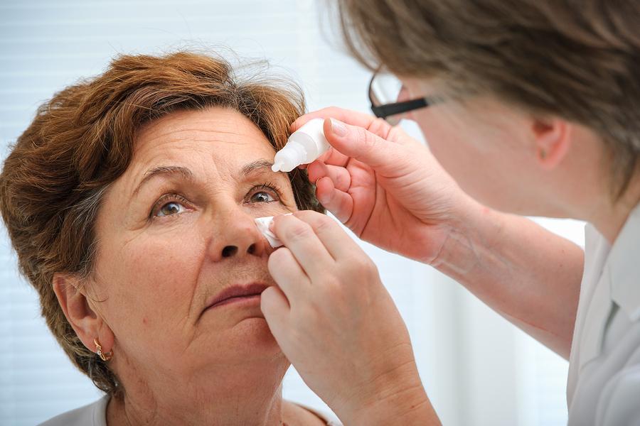 Suhe oči nakon menopauze