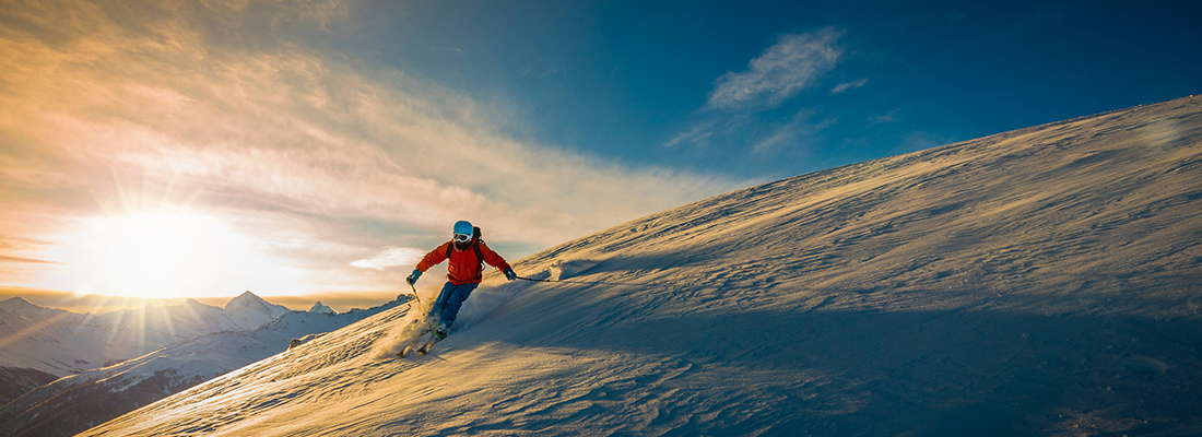 Kontaktne leće za zimske sportove
