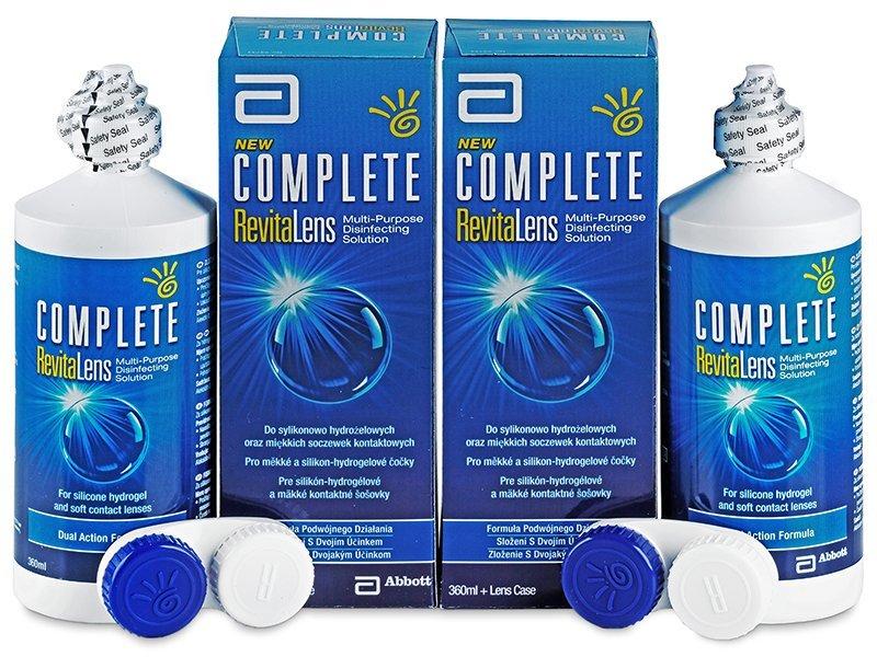 Ekonomično duplo pakiranje otopine - Otopina Complete RevitaLens 2x360ml