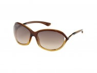Tom Ford sunčane naočale - Tom Ford JENNIFER FT0008 50F