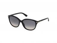 Tom Ford sunčane naočale - Tom Ford KARMEN FT0329 01B