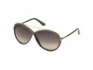 Tom Ford sunčane naočale - Tom Ford TAMARA FT0454 59K
