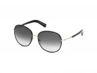 Tom Ford sunčane naočale - Tom Ford GEORGIA FT0498 01B