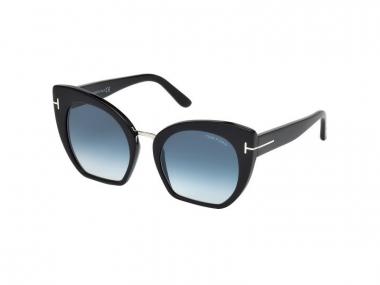 Tom Ford sunčane naočale - Tom Ford SAMANTHA FT0553 01W