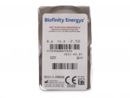 Biofinity Energys (6 leća) - Pregled blister pakiranja