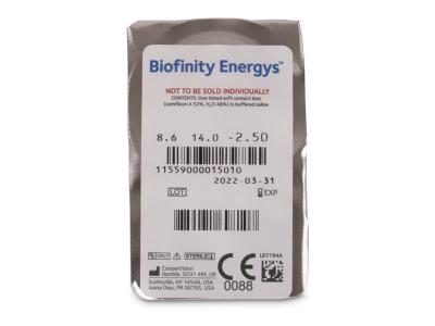 Biofinity Energys (6 leća)