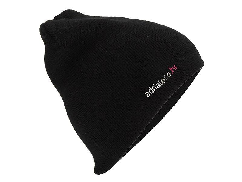 Kapa Adrialece.hr - crna  - Black hat