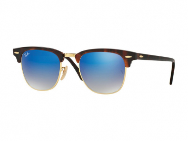Clubmaster sunčane naočale - Ray-Ban CLUBMASTER FLASH LENSES RB3016 990/7Q