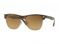 Sunčane naočale - Ray-Ban CLUBMASTER OVERSIZED CLASSIC RB4175 878/M2