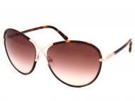 Tom Ford sunčane naočale - Tom Ford ROSIE FT0344 56F