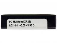 Proclear Multifocal XR (3komleća) - Pregled parametara leća