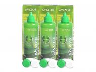 Paketi s otopinama za kontaktne leće - Otopina Alvera 3x350 ml
