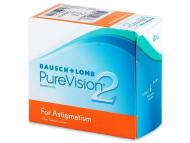 Mjesečne kontaktne leće - PureVision 2 for Astigmatism (6komleća)