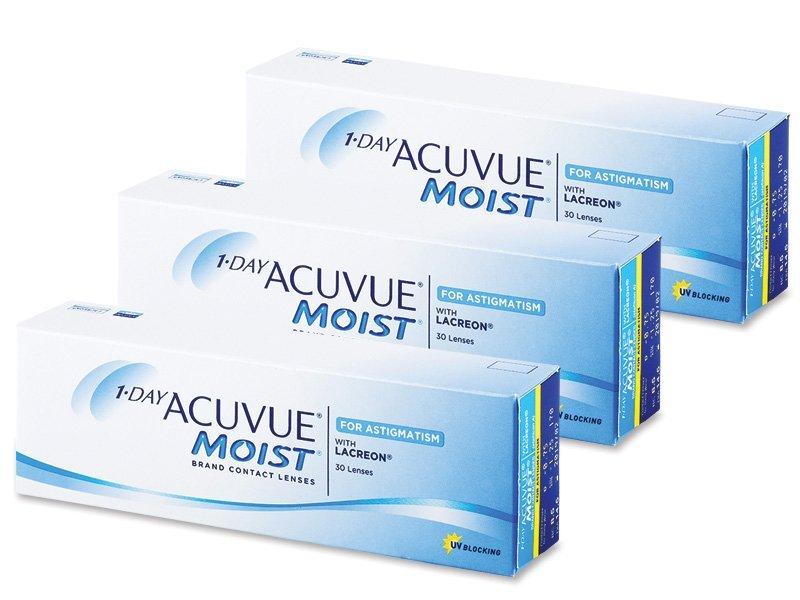 1 Day Acuvue Moist for Astigmatism (90komleća) - Torične kontaktne leće