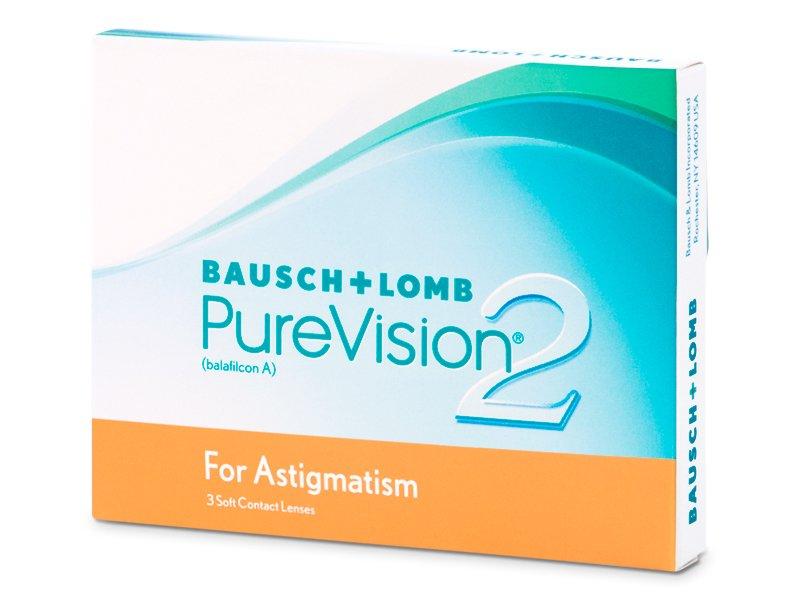 PureVision 2 for Astigmatism (3komleća) - Torične kontaktne leće