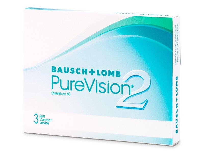 Mjesečne kontaktne leće - PureVision 2 (3komleća)