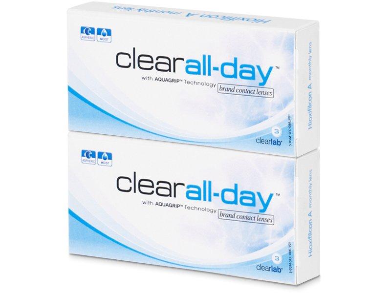 Clear All-Day (6komleća) - Mjesečne kontaktne leće