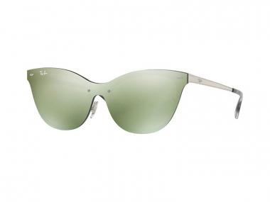Ray-Ban sunčane naočale - Ray-Ban Blaze Cat Eye RB3580N 042/30