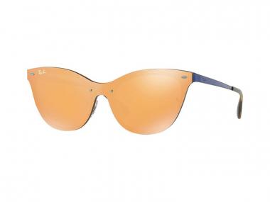 Ray-Ban sunčane naočale - Ray-Ban Blaze Cat Eye RB3580N 90377J