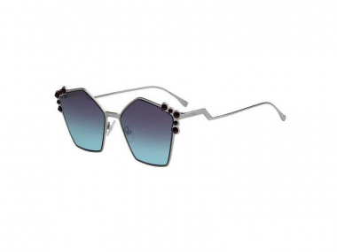 Oversize sunčane naočale - Fendi FF 0261/S 6LB
