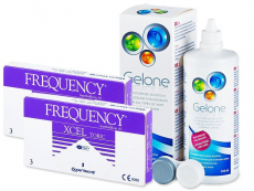 Frequency Xcel Toric (2x3 kom leća) + Gelone 360 ml