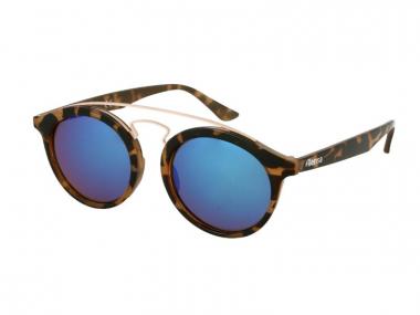 Panthos / Tea cup sunčane naočale - Dječje sunčane naočale Alensa Panto Havana Blue Mirror