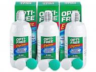 Paketi s otopinama za kontaktne leće - Otopina Opti-Free Express 3 x 355 ml