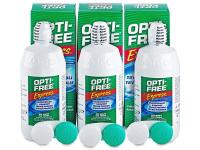 Otopina Opti-Free Express 3 x 355 ml  - Ekonomično troduplo pakiranje otopine
