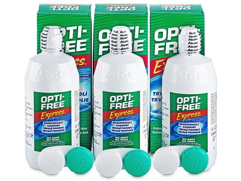 Ekonomično troduplo pakiranje otopine - Otopina Opti-Free Express 3 x 355 ml