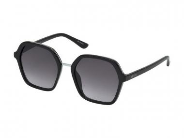 Oversize sunčane naočale - Guess GU7557 01B