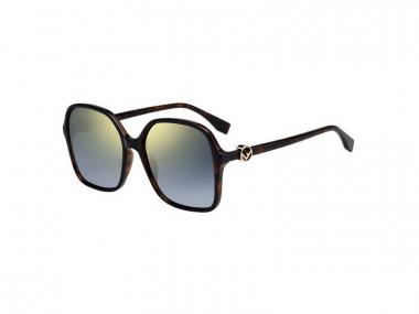 Oversize sunčane naočale - Fendi FF 0287/S 086/FQ