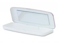 Kutije za leće s ogledalom - Kutijica za jednodnevne leće - ružičasta