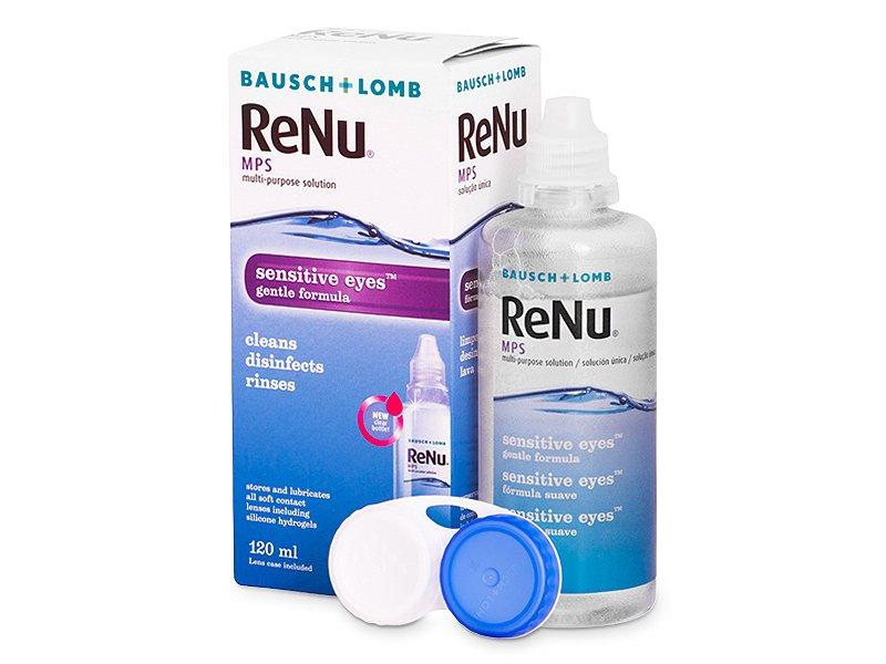 Otopina ReNu MPS Sensitive Eyes 120 ml  - Otopina za čišćenje