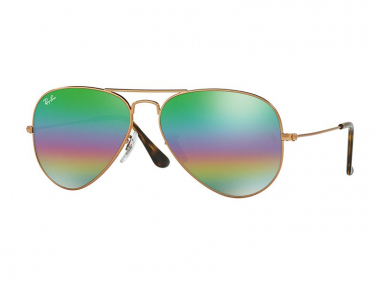 Ray-Ban sunčane naočale - Ray-Ban Aviator Mineral Flash Lenses RB3025 9018C3
