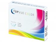 Mjesečne kontaktne leće - TopVue Color - nedioptrijske (2komleća)