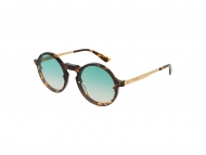 Okrugli sunčane naočale - Alexander McQueen MQ0135S 004
