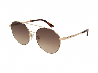 Pilot / Aviator sunčane naočale - Alexander McQueen MQ0107SK 004
