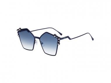 Oversize sunčane naočale - Fendi FF 0261/S PJP/08