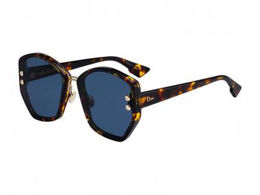 Oversize sunčane naočale - Christian Dior DIORADDICT2 P65/A9