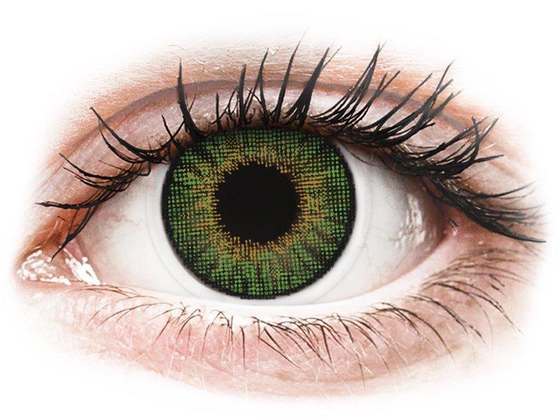 Air Optix Colors - Green - dioptrijske (2kom leća)