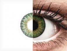 Air Optix Colors - Green - bez dioptrije (2kom leća)