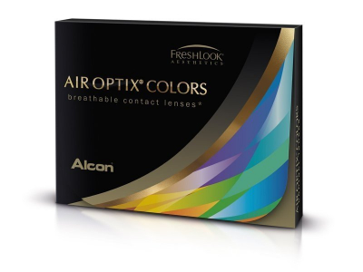 Air Optix Colors - Pure Hazel - bez dioptrije (2 kom leća)