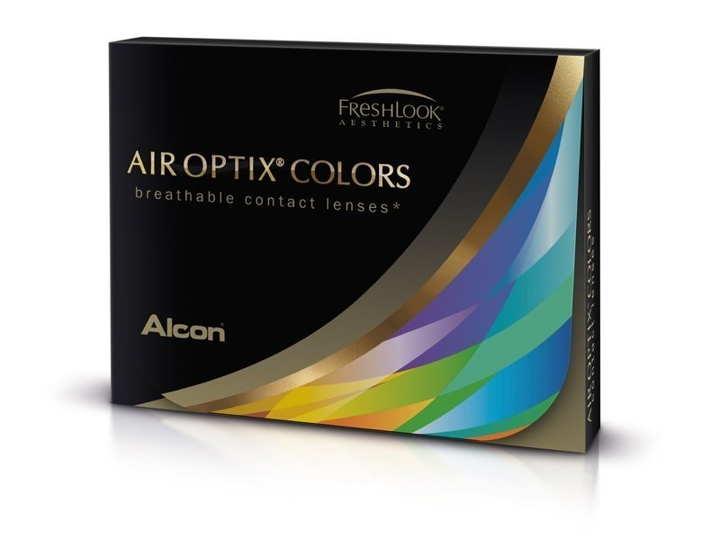 Air Optix Colors - Sterling Gray - dioptrijske (2 kom leća)