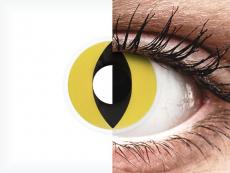 ColourVUE Crazy Lens - Cat Eye - bez dioptrije (2 kom leća)