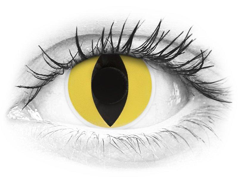 ColourVUE Crazy Lens - Cat Eye - bez dioptrije (2 kom leća) - ColourVUE Crazy Lens - Cat Eye - bez dioptrije (2 kom leća)