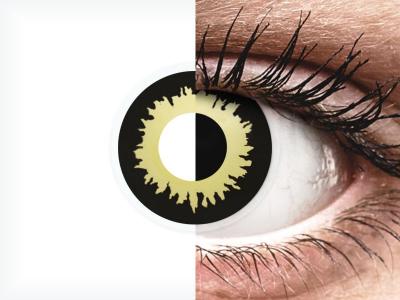 ColourVUE Crazy Lens - Eclipse - bez dioptrije (2 kom leća)